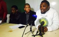 FILE: Ses'khona People's Rights Movement officials, led by Andile Lili. Picture: Siyabonga Sesant/EWN.