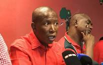 Economic Freedom Fighters leader Julius Malema pictured during a press briefing on 14 February 2017. Picture: Kgothatso Mogale/EWN.