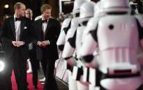 "Prince William and Prince Harry walked the red carpet at the European premiere of ""Star Wars: The Last Jedi."""