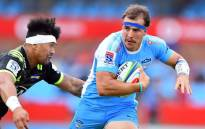 Burger Odendaal will captain the Bulls against the Chiefs in Hamilton on Friday. Picture: Twitter/@BlueBullsRugby
