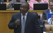 FILE: A screengrab of Deputy President Cyril Ramaphosa while answering questions in the National Assembly.