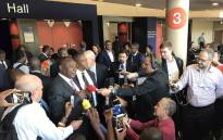 Deputy President Cyril Ramaphosa addressing the media at the World Economic Forum on Africa meeting in Durban. Picture: Kgothatso Mogale/EWN.