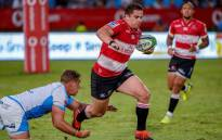 Lions' Rohan Janse van Rensburg (C). Picture: Twitter/@LionsRugbyCo.