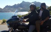 Exploring Cape Town from the back of a Harley Davidson motorbike. Picture: Refilwe Pitjeng/EWN.