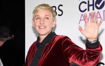 Ellen Degeneres, winner of mulitple awards, poses in the press room during the People's Choice Awards 2017 at Microsoft Theater on 18 January 2017 in Los Angeles, California. Picture: AFP