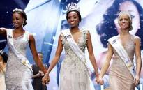 Ntandoyenkosi Kunene has been crowned Miss South Africa 2016 at a glamorous event at Carnival City on Saturday night. Picture: Vumani Mkhize/EWN.