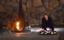 Britain's Prince William lays a wreath during a visit at the Yad Vashem Holocaust memorial in Jerusalem on 26 June 2018. Picture: AFP