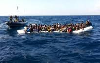 FILE: A boat full of migrants. Picture: Supplied.