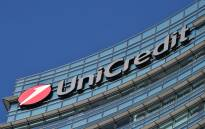 Unicredit logo. Picture: AFP.