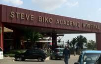 Steve Biko Academic Hospital. Picture: EWN.