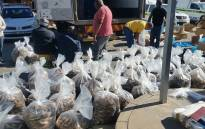 Two people were arrested after police found 18,000 units of dried abalone and 155 bags of frozen abalone in a truck in Beaufort West. Picture: @SAPoliceService/Twitter