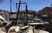 The three children who died in a shack fire in Snake Park, Soweto, were aged between 10 months and 5 years old. Picture:  Masego Rahlaga
