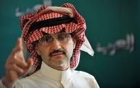 FILE: Saudi Arabian billionaire Prince Alwaleed bin Talal. Picture: AFP.