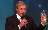 Springbok flanker Schalk Burger won 'Comeback of the Year' at the Laureus World Sports Awards in Shanghai on Wednesday.  Picture: Laureus.com