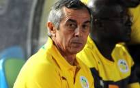 Alain Giresse resigned as coach of Mali on Thursday after the country's heavy defeat in World Cup qualification. Picture: Twitter/@ojobabatundeiso