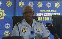 Acting SAPS Commissioner Khomotso Phahlane. Picture: Vumani Mkhize/EWN.