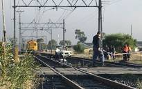 FILE: The scene of a collision between a train and a bakkie at the Buttskop level crossing in Blackheath, Cape Town on 27 April 2018. Picture: Shamiela Fisher/EWN.