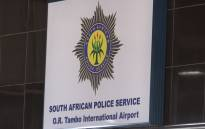 Police offices at the OR Tambo International Airport in Johannesburg. Picture: Kgothatso Mogale/EWN