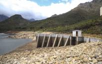 FILE: The Wemmershoek Dam in the Western Cape just over 49% full. Picture: Cindy Archillies/EWN