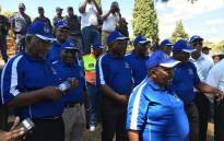 Thousands of taxi drivers march to Transport Minister Joe Maswanganyi's offices and the Union Buildings on 8 November 2017. Picture: Pelane Phakgadi/EWN