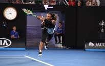 Serena Williams during the Australian Open. Picture: Twitter @AustralianOpen.