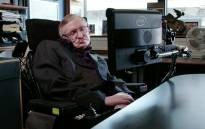 A screengrab of British physicist Stephen Hawking.