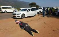 Limpopo police arrest Corporal Jacob Marakalla and an accomplice following a robbery. Picture: Supplied
