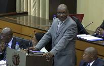 FILE: Gauteng Premier David Makhura addresses the provincial legislature. Picture: Reinart Toerien/EWN