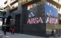 Absa Bank. Picture: EWN