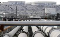 FILE: A picture shows export oil pipelines at an oil facility in the Khark Island, on the shore of the Gulf, on 23 February, 2016. Picture: AFP.