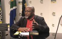 FILE: ANC secretary-general Gwede Mantashe briefing the media. Picture: Kgothatso Mogale/EWN
