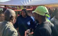 Community Safety MEC Sizakele Nkosi-Malobane visiting the family of Katlego Joja, who was found dead in Mamelodi on 6 May 2018. Picture: Katleho Sekhotho/EWN