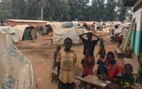 Around 7,000 people are currently seeking refuge on the local Médecins Sans Frontières hospital grounds in Batangafo, Central African Republic. Picture: Kevin Brandt/EWN.