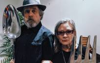 Mark Hamill with his late 'Star Wars' co-star Carrie Fisher. Picture: Instagram/@hamillhimself.