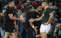 FILE: New Zealand beat South Africa 25-24 in rugby thriller at Newlands, retaining their Rugby Championship title. Picture: Twitter