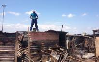 FILE: Hundreds of residents from the Slovo Park were left homeless after the fire razed 400 shacks to the ground. Picture: EWN.