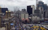 Nigerias commercial capital of Lagos. Picture: AFP.