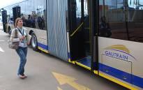FILE: Gautrain bus at the Centurion station. Picture: EWN