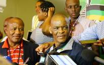 ANC secretary-general Ace Magashule briefs the media after an ANC parliamentary caucus meeting on 8 February 2018. Picture: Christa Eybers/EWN