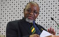 Mineral Resources Minister Gwede Mantashe. Picture: @GCISMedia/Twitter