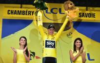 FILE: Chris Froome escaped unscathed after an action-packed ninth stage of the Tour de France. Picture: @LeTour/Twitter