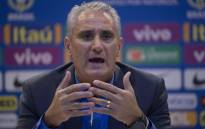 Brazil coach Tite. Picture: AFP