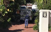FILE: Police at the home of murdered former Naspers financial director Eric Wiese on 5 August 2017. Picture: Kevin Brandt/EWN.