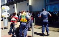 FILE: Police seen during the Operation Fiela project at malls across the country. Picture: EWN