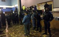 FILE: Metro police called in during a community meeting in Bonteheuwel. Picture: Natalie Malgas/EWN.