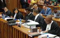 Johannesburg Mayor Herman Mashaba's legal team ahead of proceedings at the South Gauteng Court on 26 September 2017. Picture: Louise McAuliffe/EWN.