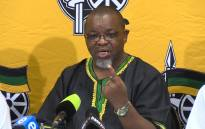 Gwede Mantashe criticizes of Chief Justice Mogoeng Mogoeng's recent public speaking engagement. Picture: Vumani Mkhize/EWN