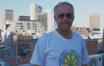 Jeremy Acton of the Dagga Party. Picture: EWN.