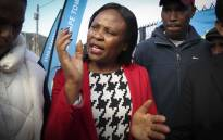 FILE: Public Protector Busisiwe Mkhwebane during a visit to Masiphumelele in Cape Town. Picture: Cindy Archillies/EWN