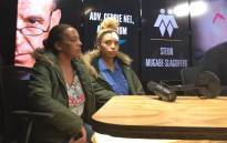 Debbie Engels (left) and her daughter Gabriella Engels, who claims that she was assaulted by Zimbabwe's first lady Grace Mugabe. Picture: Hitekani Magwedze/EWN
